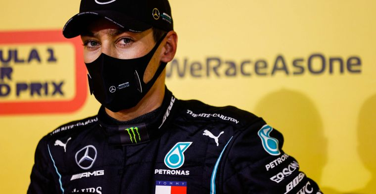 Mercedes refuses to play 'Russell card' in negotiations with Hamilton
