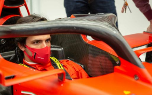 Stunning images at Fiorano: Sainz 'finally' makes his debut for Ferrari