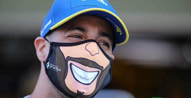Ricciardo: 'Ik kom niet voor een comedyshow naar McLaren'