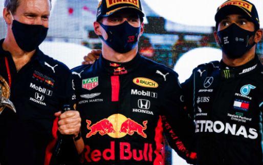Verstappen en Leclerc kunnen niet tippen aan Hamilton: 'Hij is de nummer één'