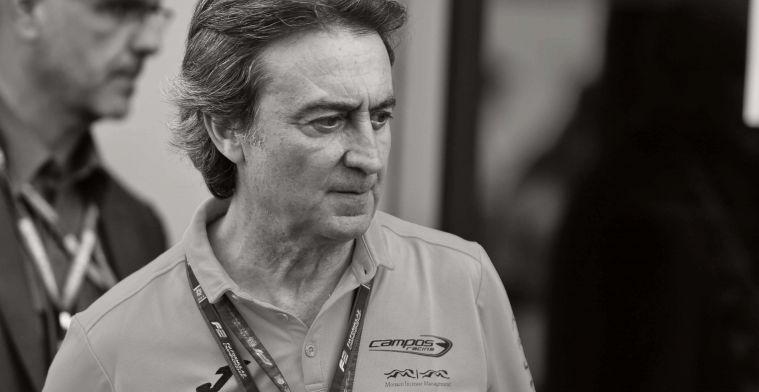 Campos Racing boss, Adrian Campos, dies aged 60