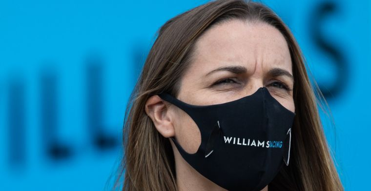 Claire Williams: 'It came up repeatedly that I was a woman'
