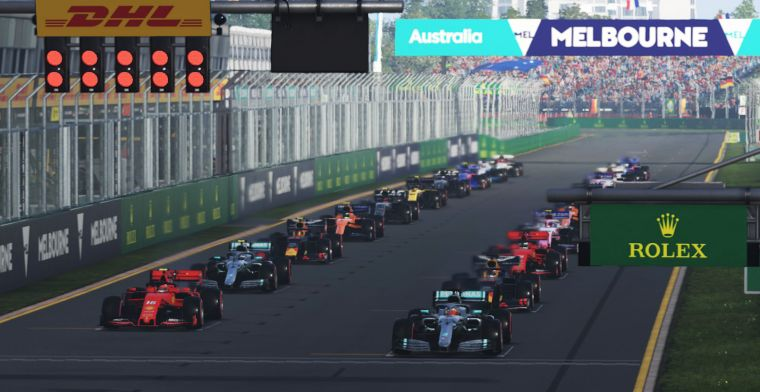 LIVE: The Formula 1 Virtual Grand Prix of Great Britain