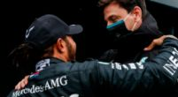 Image: Mercedes deny option for longer F1 contract with Lewis Hamilton