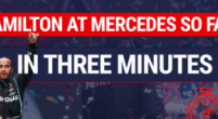 Image: Hamilton's Mercedes career so far in under three minutes!