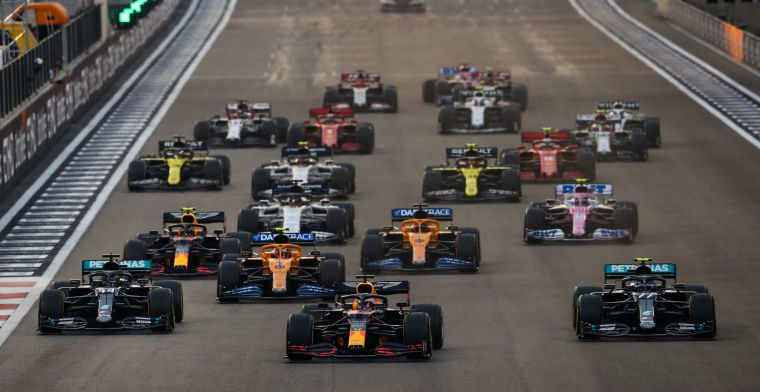 Formula 1 wants 2021 calendar with 26 races, to test sprint races