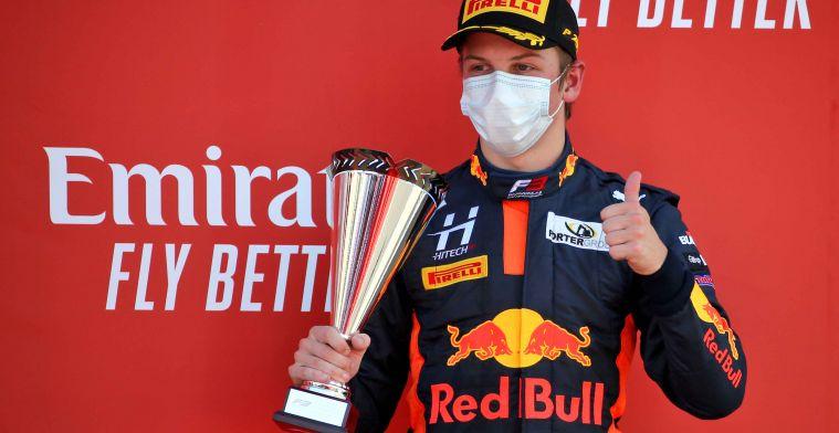 Red Bull-talent verrast: Ik dacht dat hij een grap met me uithaalde