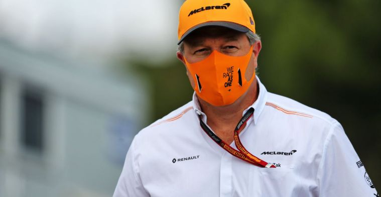 Zak Brown sees something in new approach to F1 calendar