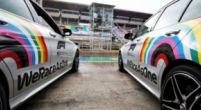 Afbeelding: Formule 1 stopt met regenbooglogo in de #WeRaceAsOne campagne