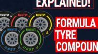 Image: Formula 1 tyre compounds explained!
