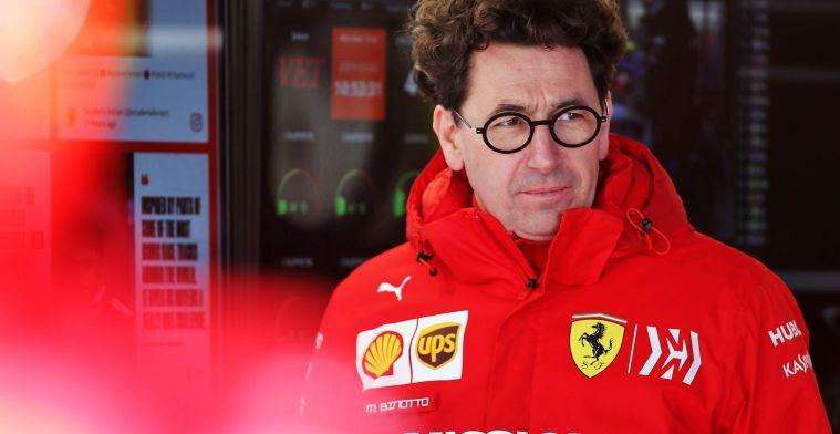 Verwacht geen wonderen van Ferrari in 2021: 'Dat heeft tijd nodig'