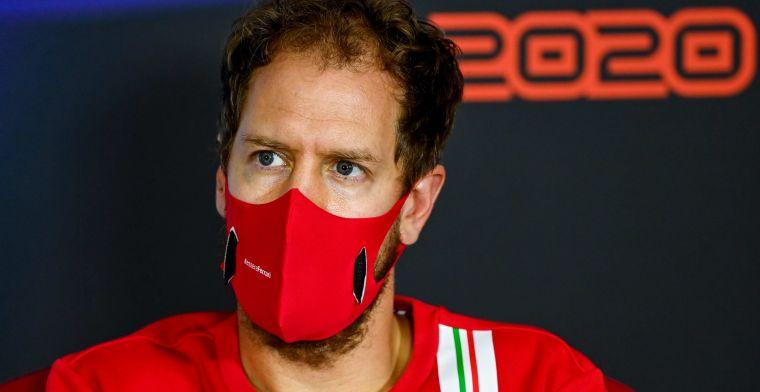 Vettel eindelijk weg bij Ferrari: 'Dat was geen leuke ervaring meer'
