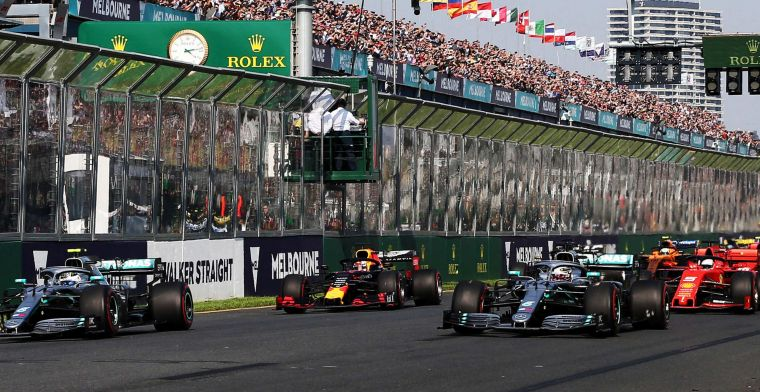 Melbourne takes advantage of postponement and revamps Albert Park layout