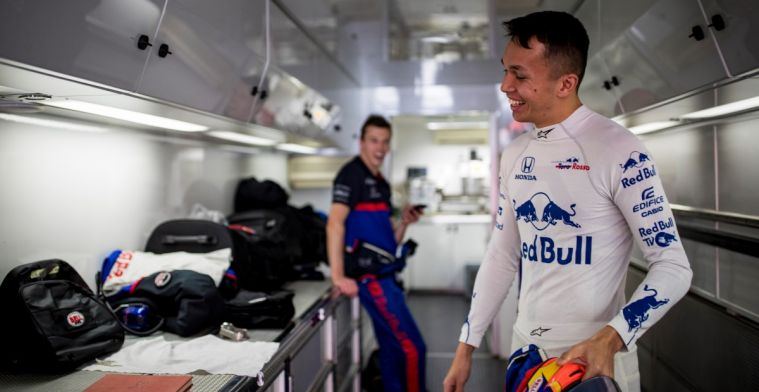 Albon: My main goal is to be in a Formula 1 car, so I would