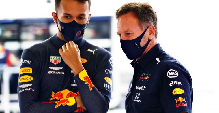 Ook Albon woensdag in actie namens Red Bull op Silverstone