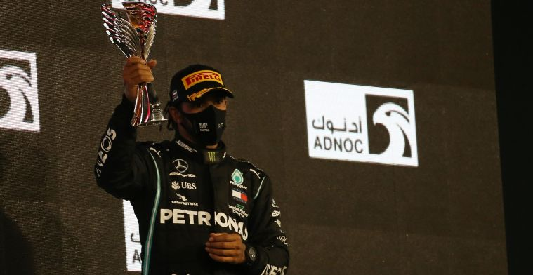 Hamilton and Mercedes again nominated for Laureus Sport Award