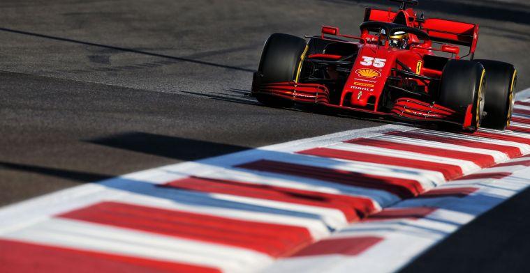 Sainz en Leclerc hebben al 85 rondes op de nieuwe Pirelli-banden getest