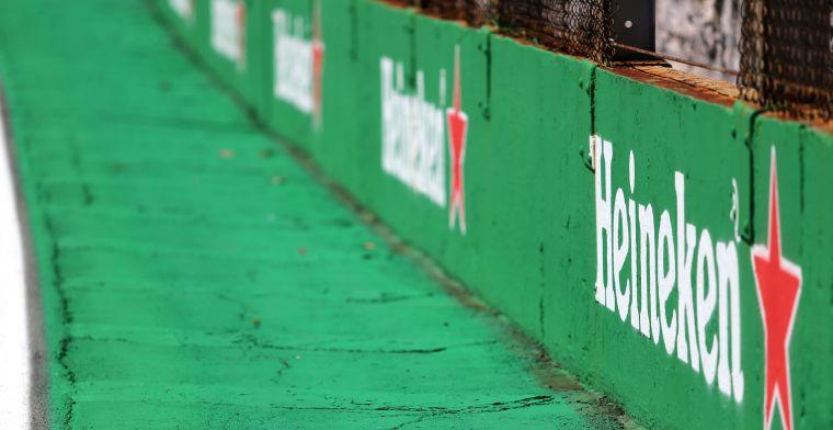 UPDATE   Heineken logo also appears in Red Bull Racing newsletter