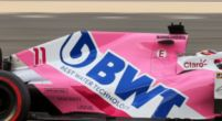 Image: Aston Martin retains BWT as sponsor: pink colour stays on the car