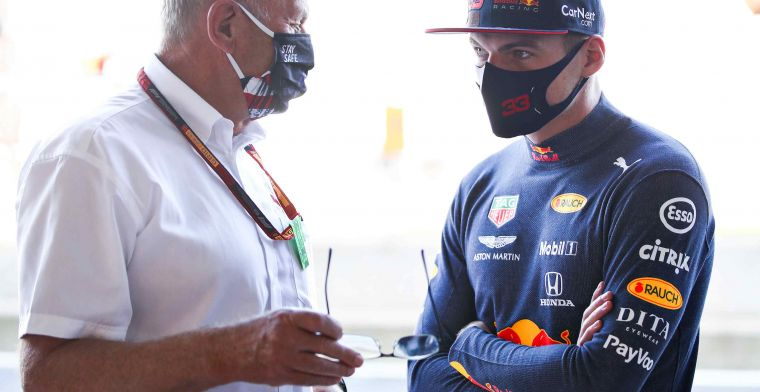 Red Bull advisor: 'Verstappen two or three tenths quicker than Perez'