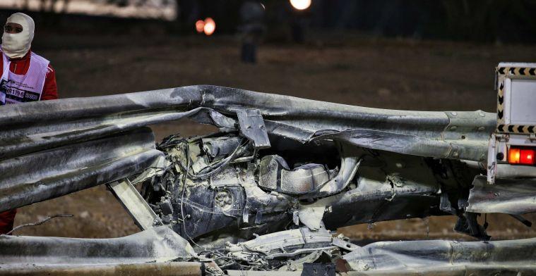 Haas weigert Grosjean te sponsoren na crash: 'Hij moet gewoon thuis blijven'
