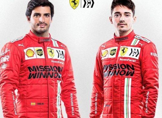 Sainz voorziet moeilijke opgave met Leclerc als teamgenoot: 'Het wordt lastig'