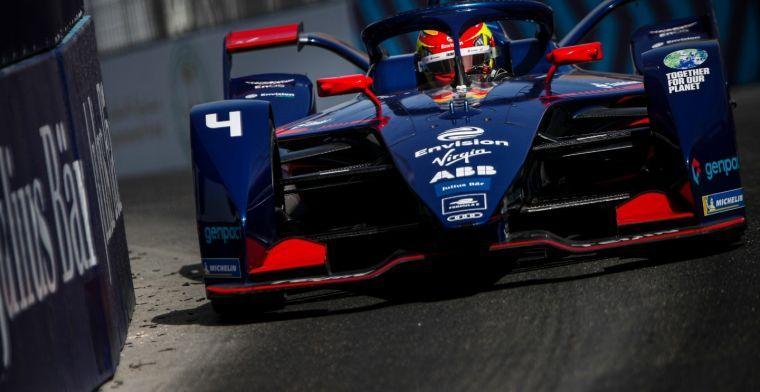 Robin Frijns grijpt net naast overwinning in Formule E door bizar einde