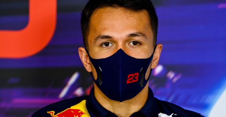 Albon certainly still plays an important role at Red Bull