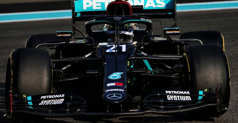 Mercedes wants to gain time with modified mirrors