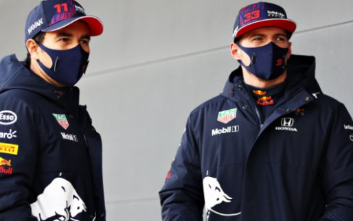 Verstappen en Perez zien potentie in RB16B: 'Zorgen dat de setup perfect is'