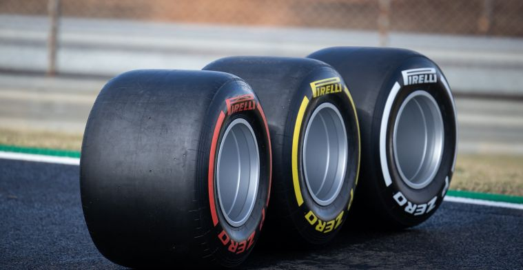 New Pirelli tyres are tested by all the teams, except this one