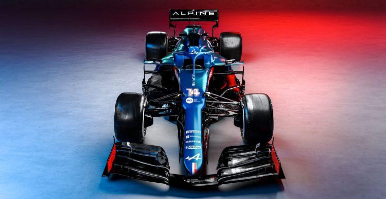 Rossi overtuigd: 'Alpine gaat voor de middelste trede van het podium'