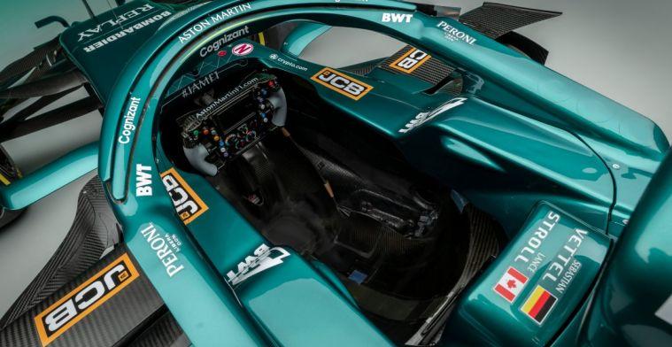Bekijk hier de gloednieuwe livery bij de terugkeer van Aston Martin in de F1