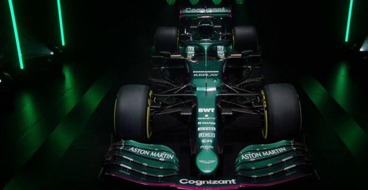 Teambaas Aston Martin: 'Vandaag is de auto het hoogtepunt'