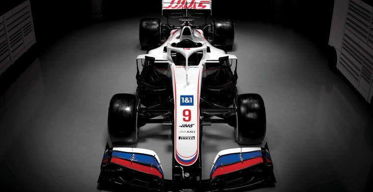 Bekijk hier de gloednieuwe 'Russische' livery voor Schumacher in 2021