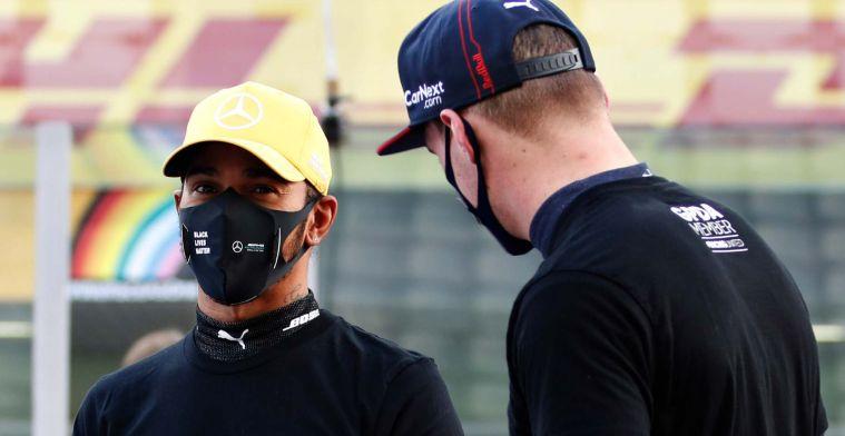Grosjean verkiest Hamilton boven Verstappen: Ik zet mijn geld op Lewis