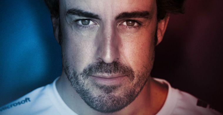 Verbazing bij Alpine over het snelle herstel van Alonso