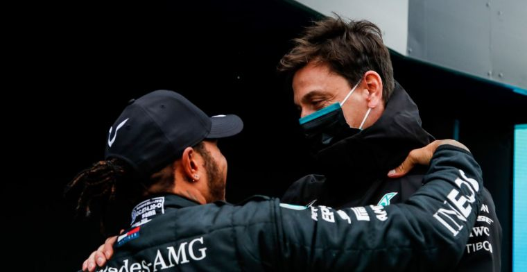 Wolff: 'If Lewis stays in Formula 1, we want to do it together'
