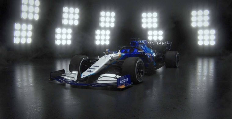 This is what the Williams reveal would have looked like if the team wasn't hacked