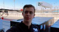 Afbeelding: Richard Verschoor voor MP Motorsport bij F2 test; racestoeltje nog onzeker
