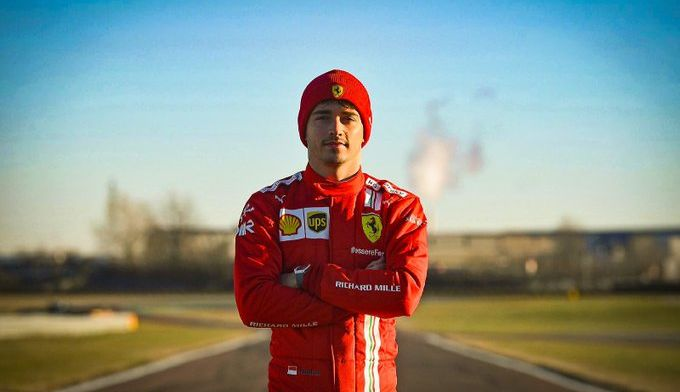 Leclerc: 'Ik denk dat ik nog nooit zoveel bij Ferrari ben geweest'