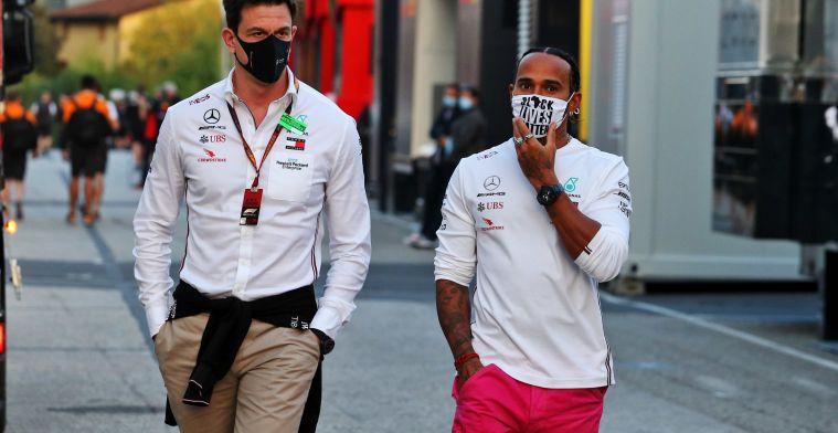 Mercedes wilt herhaling voorkomen: 'In mei met Hamilton aan tafel over contract'