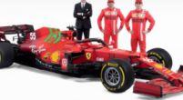 Afbeelding: Leclerc en Sainz reageren op groene details SF21: 'Moet nog even wennen'