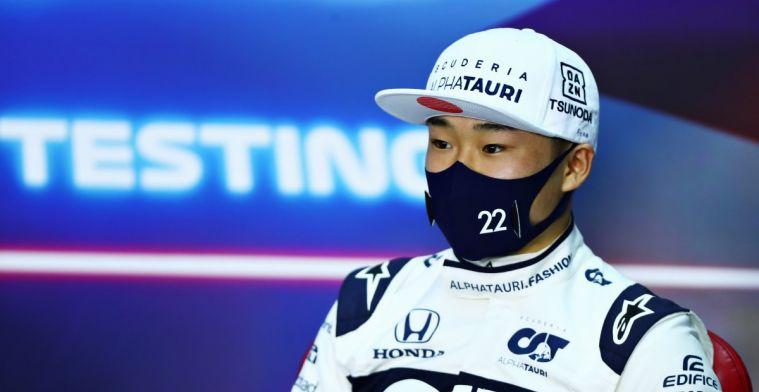 Tsunoda: 'Je kunt aan de topsnelheden zien dat we de motor hebben verbeterd'
