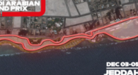 Image: Formula 1 presents the layout of the longest street circuit in Saudi Arabia