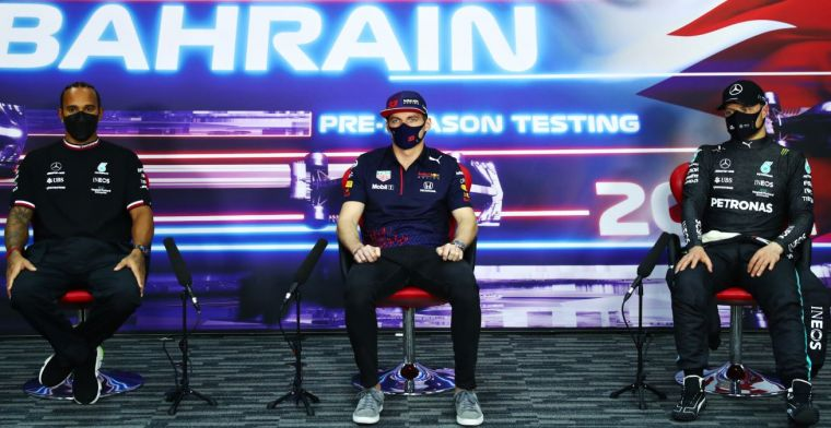 Button: 'Hij zit absoluut op hetzelfde niveau als Hamilton'
