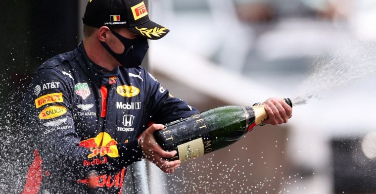 Verstappen: 'I started cramping because of the excitement and the focus'