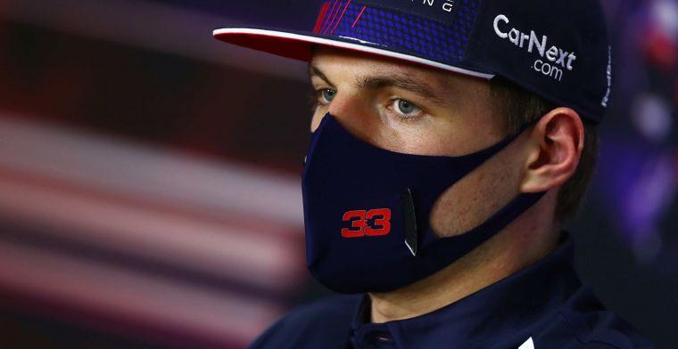 Verstappen kijkt niet naar Perez: 'Beste uit mezelf halen, dan zit het wel goed'