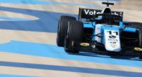 Afbeelding: Ticktum maakt excuus voor Formule 2-crash Verschoor: 'Je ging zo langzaam'