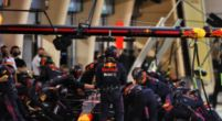 Image: Red Bull make a good start in the pit stops